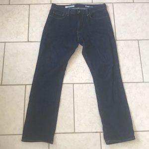 Men's GAP dark jeans, straight fit
